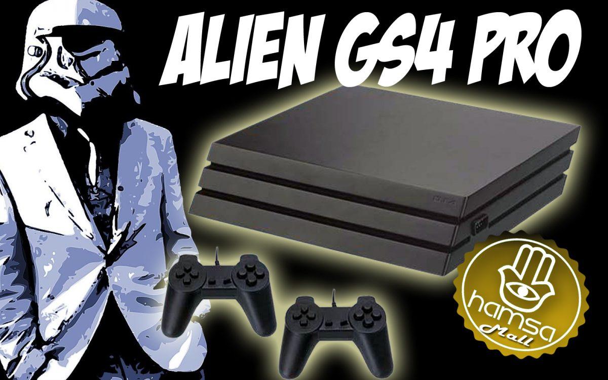 Unboxing y Review Consola Alien Gs4 PRO
