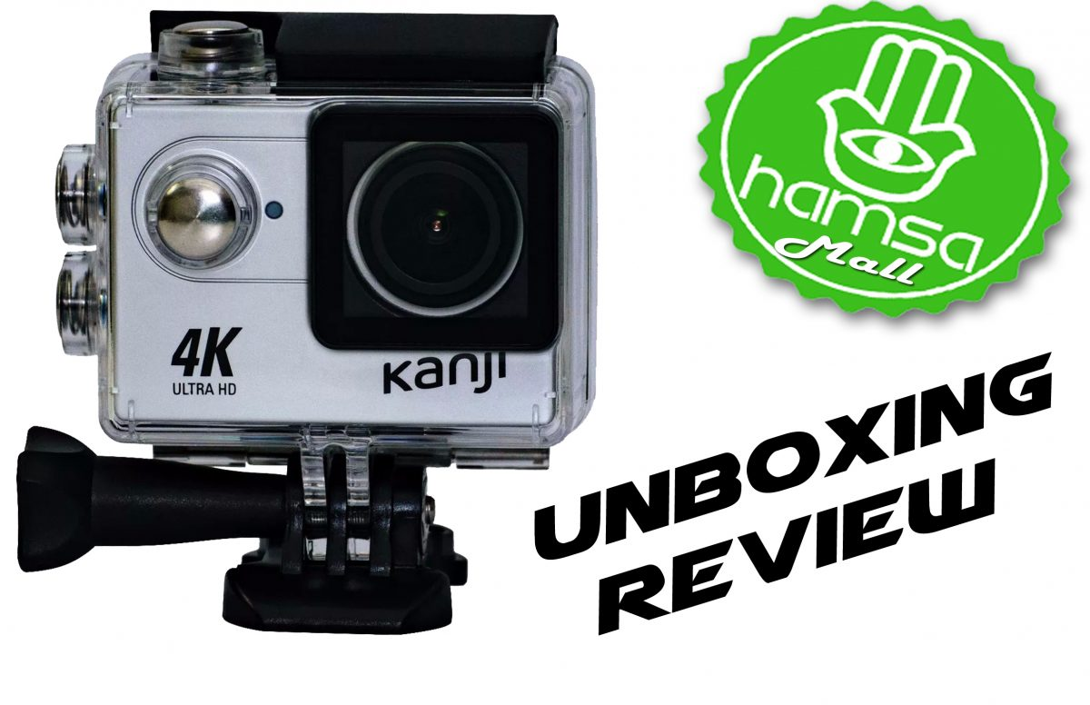 Unboxing y Review Camara Deportiva Kanji Move 4k