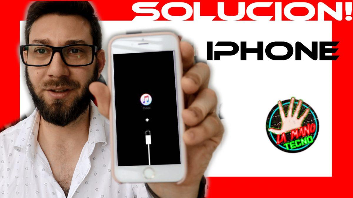 IPHONE o IPOD esta DESACTIVADO conectarse a ITUNES